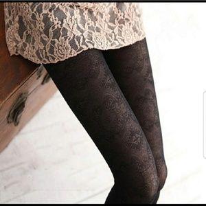 *Sexy Brown Paisley Print Leggings*NWT*